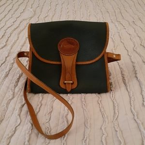 Vintage  Dooney +Bourke pebbled leather
